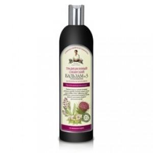 Balsam traditional siberian cu propolis de brusture nr.3 - impotriva caderii parului