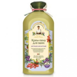 Crema-spumant de baie anticelulitic cu 5 plante spumante si sare siberiana rapa