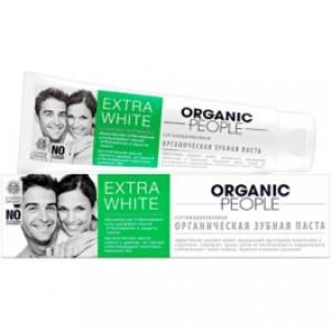 Pasta de dinti organica extra white