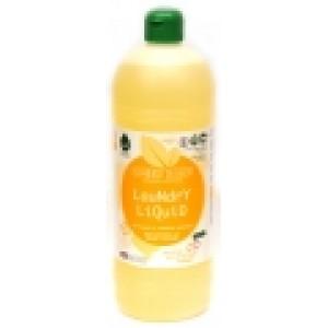 Detergent ecologic lichid pentru rufe albe si colorate cu portocale